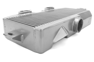 Mishimoto Top Mount Intercooler Silver/Blue (Part Number: MMTMIC-STI-08SLBL)