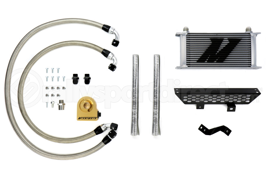 Mishimoto Oil Cooler Kit Silver Thermostatic (Part Number:MMOC-FOST-13T)