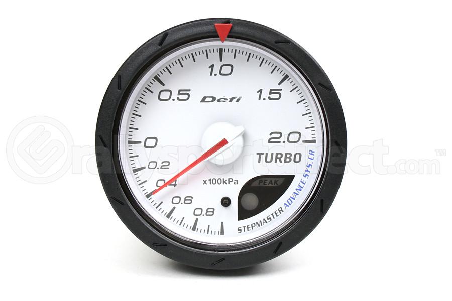 Defi Advance CR Boost Metric White 60mm Gauge (Part Number:DF08601)