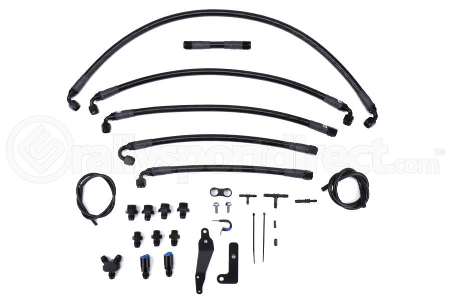IAG Performance PTFE Fuel Line Kit - Subaru WRX 2008 - 2014 / STI 2008 - 2020