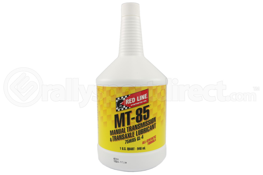 Red Line MT85 Manual Transmission Lubricant 1QT (Part Number:50504)