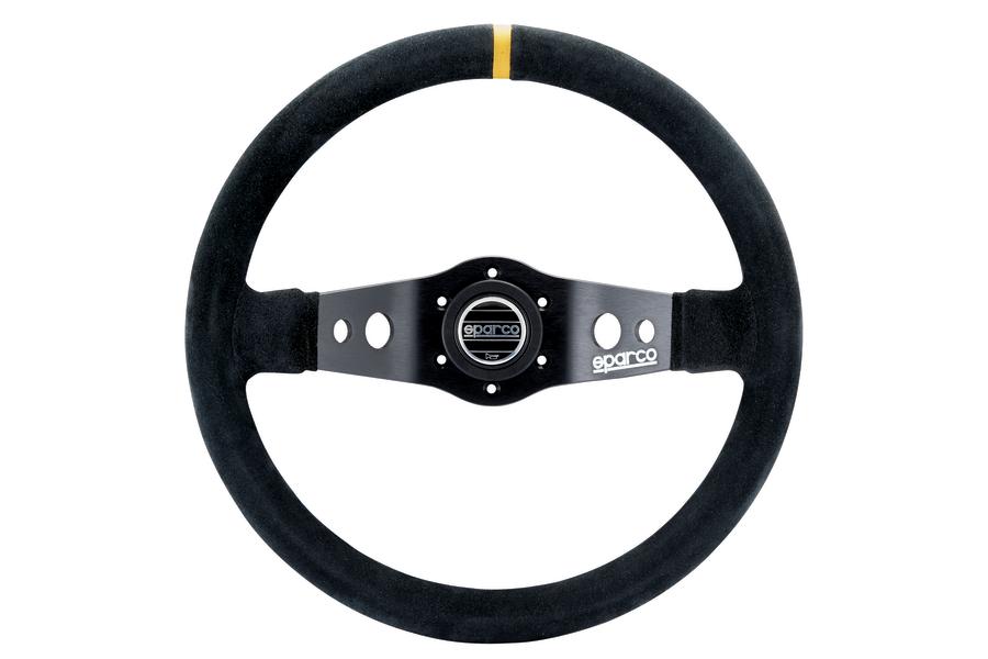 Sparco R 215 Steering Wheel Suede Black - Universal