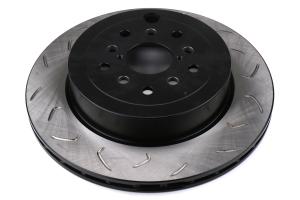 FactionFab Slotted Rear Rotor Dual Drilled 5X100 / 5x114.3 - Subaru Models (Inc. STI 2008-2017 / WRX 2008 - 2014)