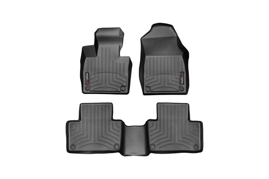 Weathertech Front and Rear Floorliners Black - Subaru Outback 2020+
