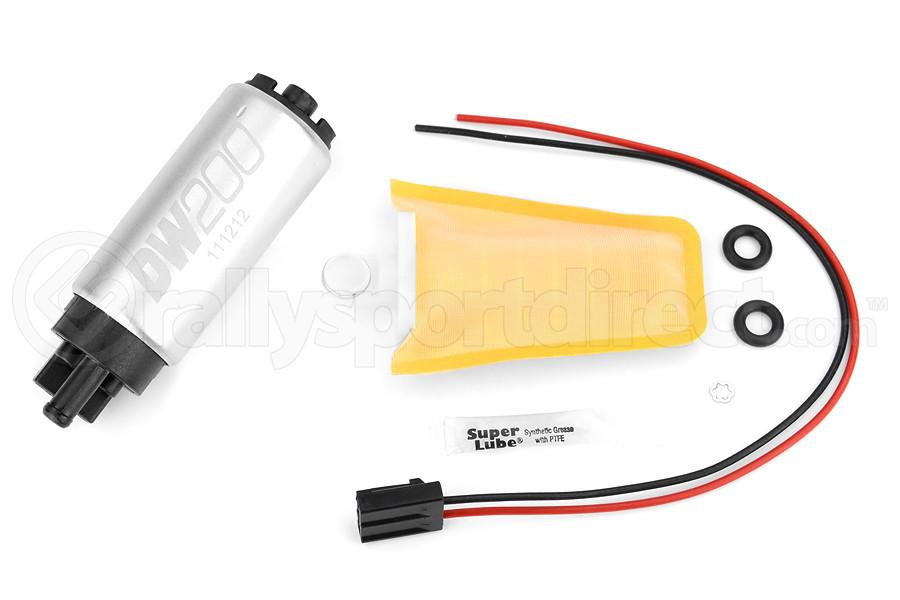 DeatschWerks DW200 Series Fuel Pump w/ Install Kit ( Part Number:DET 9-201S-1006)