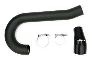 ETS Lower Intercooler Pipe Wrinkle Black (Part Number: )