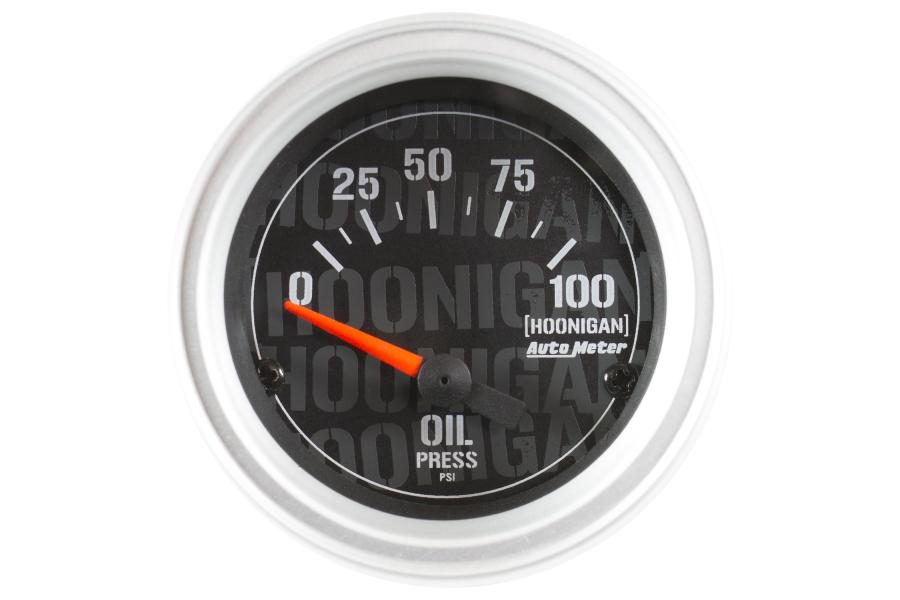 Autometer Hoonigan Oil Pressure Gauge Electrical 52mm - Universal