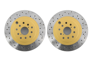 DBA 4000 Series Drilled/Slotted Rotor Pair Rear ( Part Number: 42656XS-10G)
