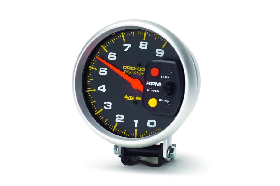 Autometer Pro-Comp Pedestal Tachometer Gauge 5in - Universal
