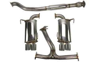 GrimmSpeed Cat Back Exhaust System Resonated - Subaru WRX/STI Sedan 2011+
