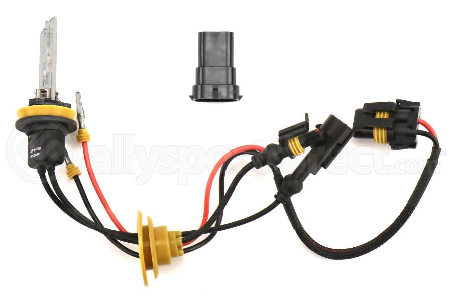 Morimoto H11B/ H9/ H8 XB 5500K Single HID Bulbs (Pair) - Universal