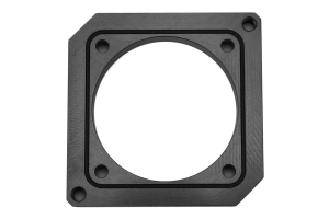 Boomba Racing Throttle Body Adapter 75mm Black (Part Number: )
