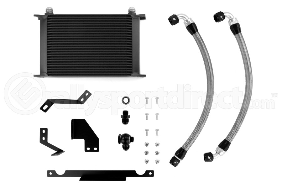 Mishimoto Oil Cooler Kit Black - Mitsubishi Evo 8/9 2003-2006