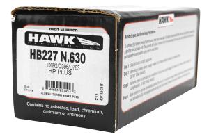 Hawk HP Plus Front Brake Pads - BMW Models (inc. 1995-1999 M3 / 1998-2002 Z3 M Coupe)