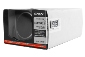 Defi Advance BF White Boost Metric 60mm Gauge ( Part Number:DEF1 DF09901)
