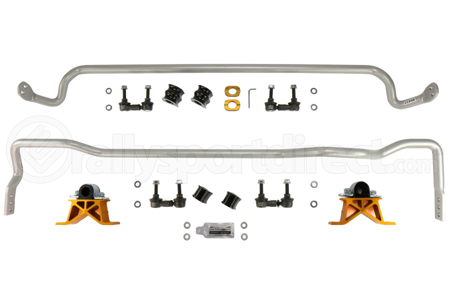 Whiteline Front and Rear Sway Bar Kit w/ Endlinks (Part Number:BSK009M)