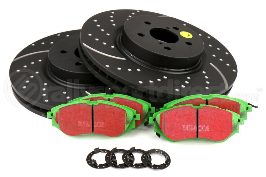 EBC S2KF1011 Stage-2 Sport Brake Kit