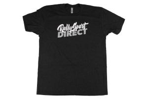 RallySport Direct Distress T-Shirt Black - Universal