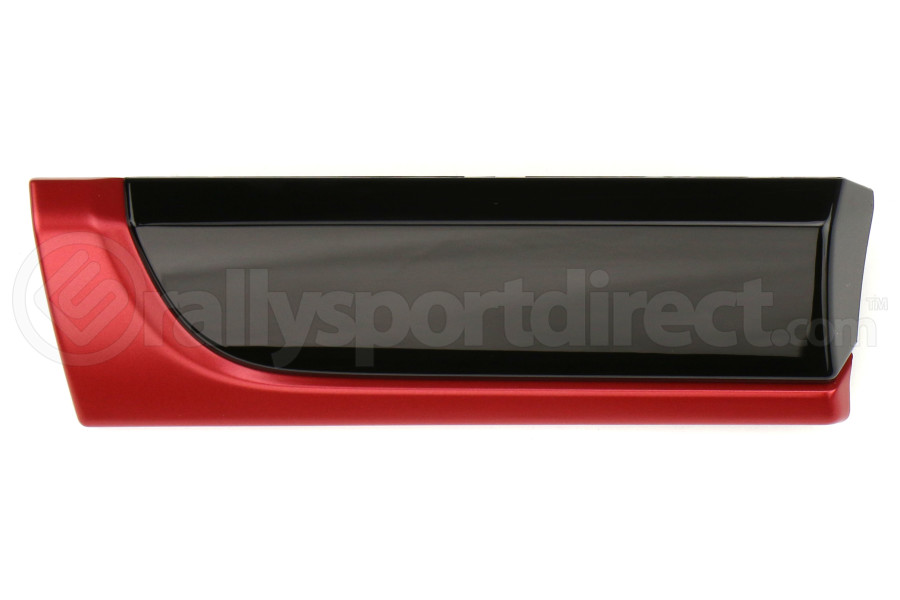 Subaru OEM Dash Trim Driver Piano Black / Red - Subaru Models (inc. 2015+ WRX/STI / 2013-2017 Crosstrek )