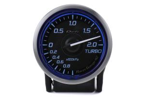 Defi DF Blue Racer N2 Boost Gauge Metric 52mm 2 Bar - Universal