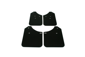 Rally Armor Basic Mud Flaps Black Logo ( Part Number:RAL MF1-BAS-BLK)