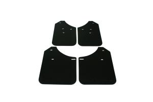 Rally Armor Basic Mud Flaps Black Logo  ( Part Number: MF1-BAS-BLK)