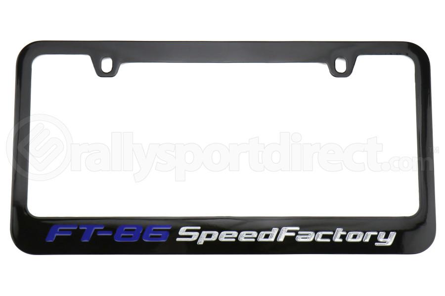 FT-86 SpeedFactory Logo License Plate Frame - Universal