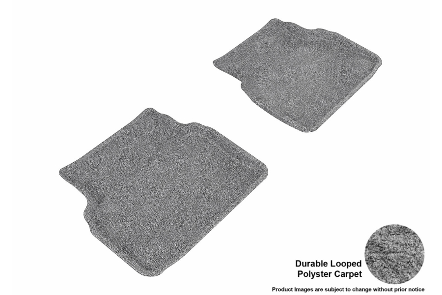 3D MAXpider Rear Classic Floor Mats - Subaru Impreza 2002 - 2007