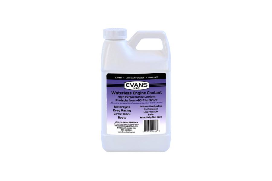 Evans Cooling Original NPG Coolant 1/2 Gal ( Part Number:EVC EC10064)