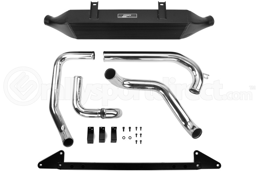 Mishimoto Front Mount Intercooler Black w/ Intake (Part Number:MMINT-WRX-01AIBK)