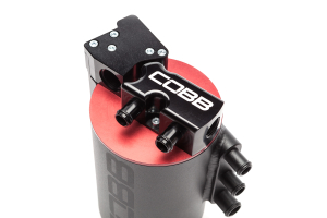 COBB Tuning Air Oil Separator Black/Red (Part Number: 822600)