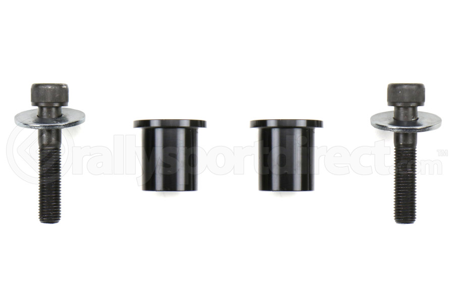 Torque Solution Solid Steering Rack Bushings - Subaru WRX 2008 - 2014 / STI 2005 - 2014