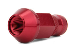 Gorilla Aluminum Open End Red Lug Nuts 12x1.25 (Part Number: )
