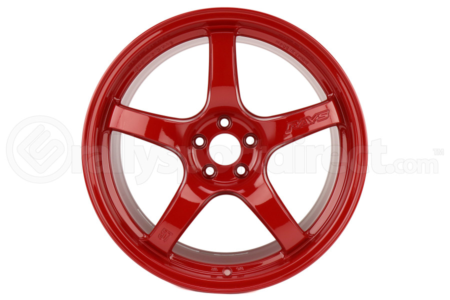 Gram Lights 57CR 18x9.5 +38 5x100 Milano Red - Universal