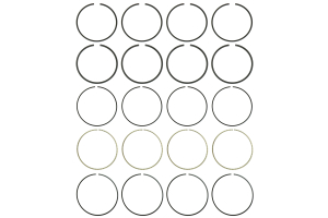 Cosworth Piston Ring Set 86.50mm ( Part Number: 20013803)