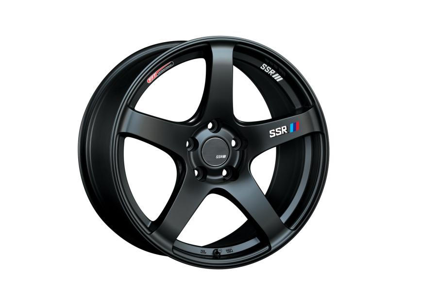 SSR GTV01 17x7 +42 4x100 Flat Black - Universal