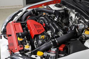 Grimmspeed Front Mount Intercooler Kit w/ Black Piping - Subaru WRX 2008-2014
