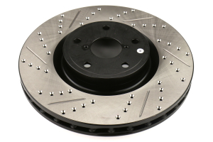 Stoptech Drilled and Slotted Rotor Single Front Right - Subaru STI 2005-2017