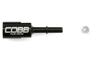 COBB Tuning Billet Fuel Line Adapter 5/16-8mm ( Part Number: 300100)