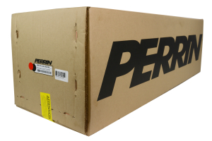 PERRIN Boost Tube Kit Red Piping Black Couplers (Part Number: )