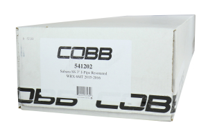 COBB Tuning Catted Resonated J-Pipe - Subaru WRX 2015+