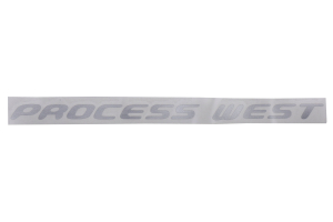 Process West TMIC Decal Silver - Universal