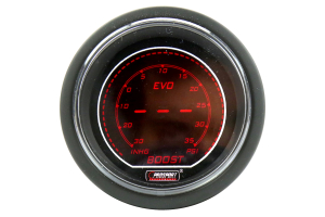 ProSport Digital Boost Gauge Electrical w/Sender Red/Blue 52mm ( Part Number: 216EVOBO.PSI)