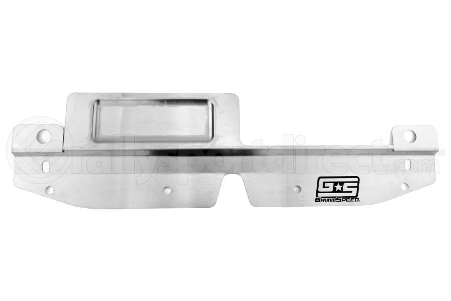 GrimmSpeed Radiator Shroud w/ Tool Tray Stainless (Part Number:096038)