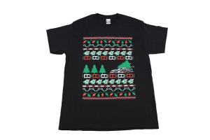 IAG Men's Ugly Christmas T-Shirt Black - Universal