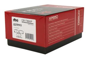 DBA XP650 Track Performance Rear Brake Pads - Subaru/Scion Models (inc. 2011-2014 WRX / 2013+ BRZ / 2013-2016 FR-S)