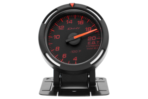 Defi Red Racer EGT Exhaust Gas Temperature Gauge Imperial 52mm 400-2000F ( Part Number:DEF1 DF06802)