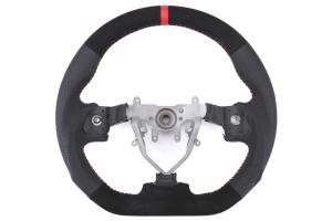 FactionFab Steering Wheel Leather and Suede - Subaru WRX / STI 2008 - 2014