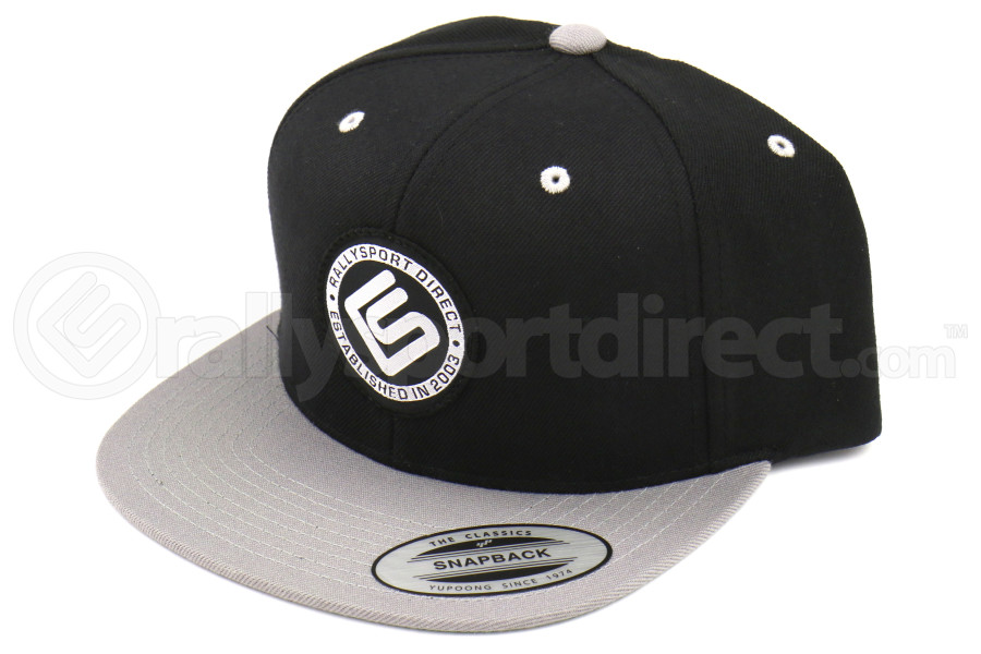 RallySport Direct Circle Woven Label Patch Hat - Universal