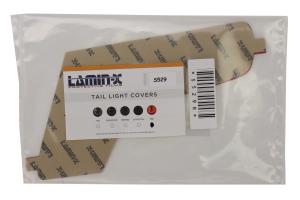 Lamin-X Reverse Light Covers Red - Subaru WRX/STI 2015+